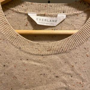 Everlane Cashmere Cropped Crew Sz M